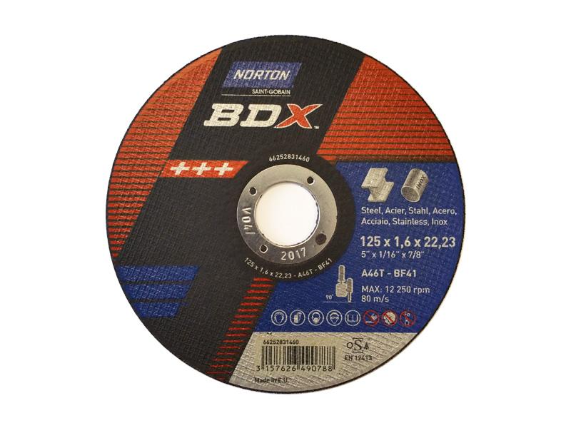 DISCO SMERIGLIO 115X6.5 INOX BDX (5)(10)