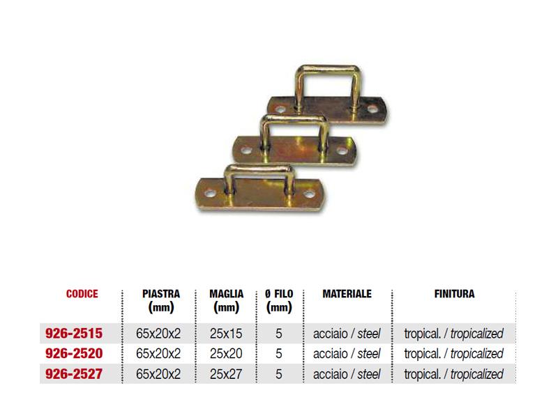 CAVALLOTTO RETT.25X15 9262515 (10)(50)