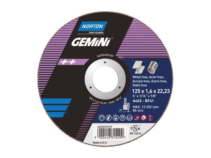 DISCO SMERIGLIO 115X6 INOX  (5)(10