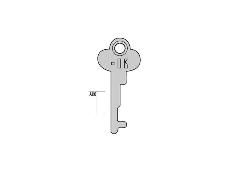 1003P1-CP1/K000 CHIAVE CASSETTA CASELL