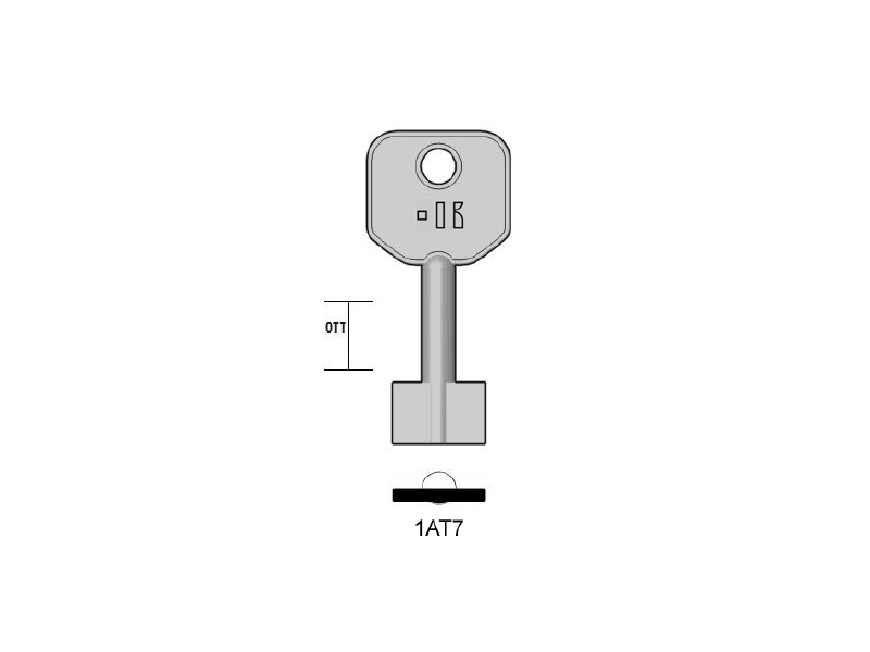 5AT3-1AT7/K000 CHIAVE DOP.MAP. (25