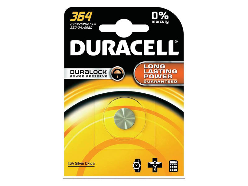 DURACELL 364 OROLOGIO (10)