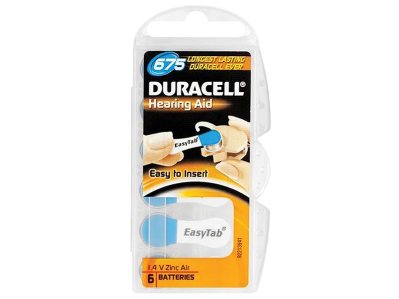 DURACELL 675 ACUSTICA X6 (10)
