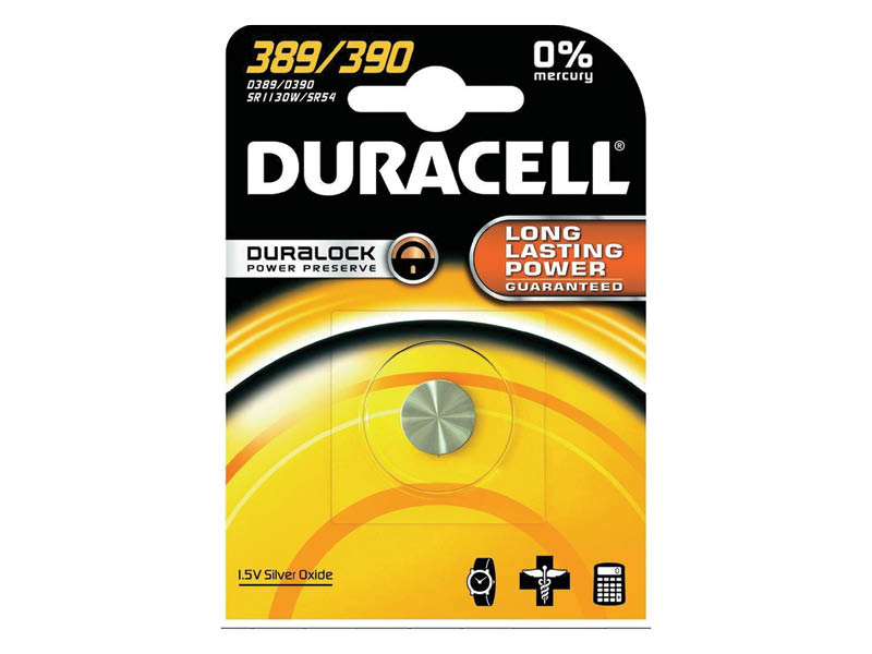 DURACELL 389/390 OROLOGIO (10)