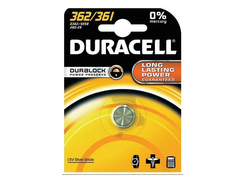 DURACELL D362/361 SPECIALISTICA (10)