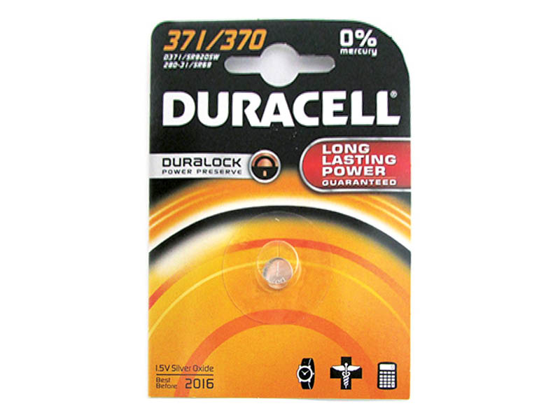 DURACELL 371/370 OROLOGIO (10