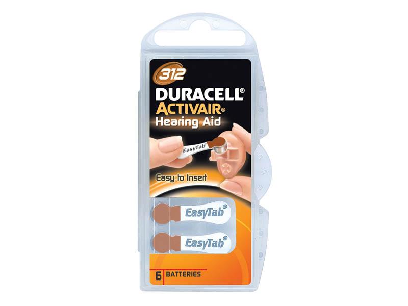 DURACELL 312 ACUSTICA X6 (10)