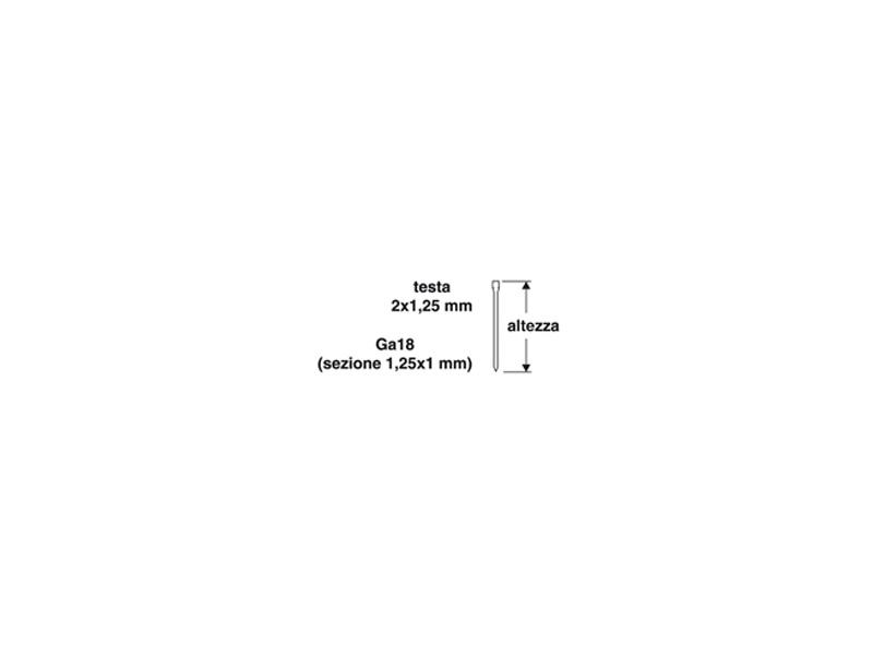CHIODI PUNTATRICE PN.MM.15 1455612 (12