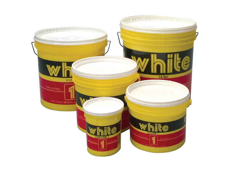 TEMPERA SEMILAVABILE WHITE LT.10 (4(36