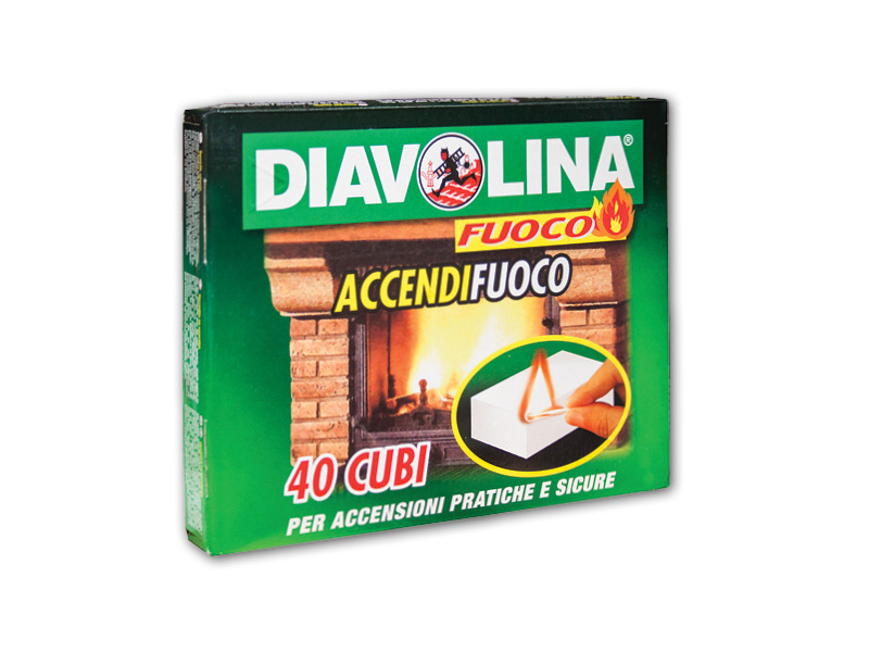 ACCENDIFUOCO 40Cubi DIAVOLINA (24(1920
