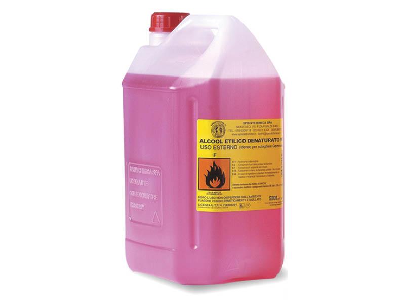 ALCOOL DENATURATO LT.5 90° (1(3)