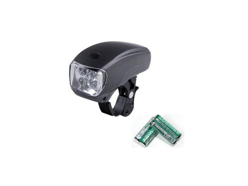FANALE BICI ANT. 5 LED NERO (10)
