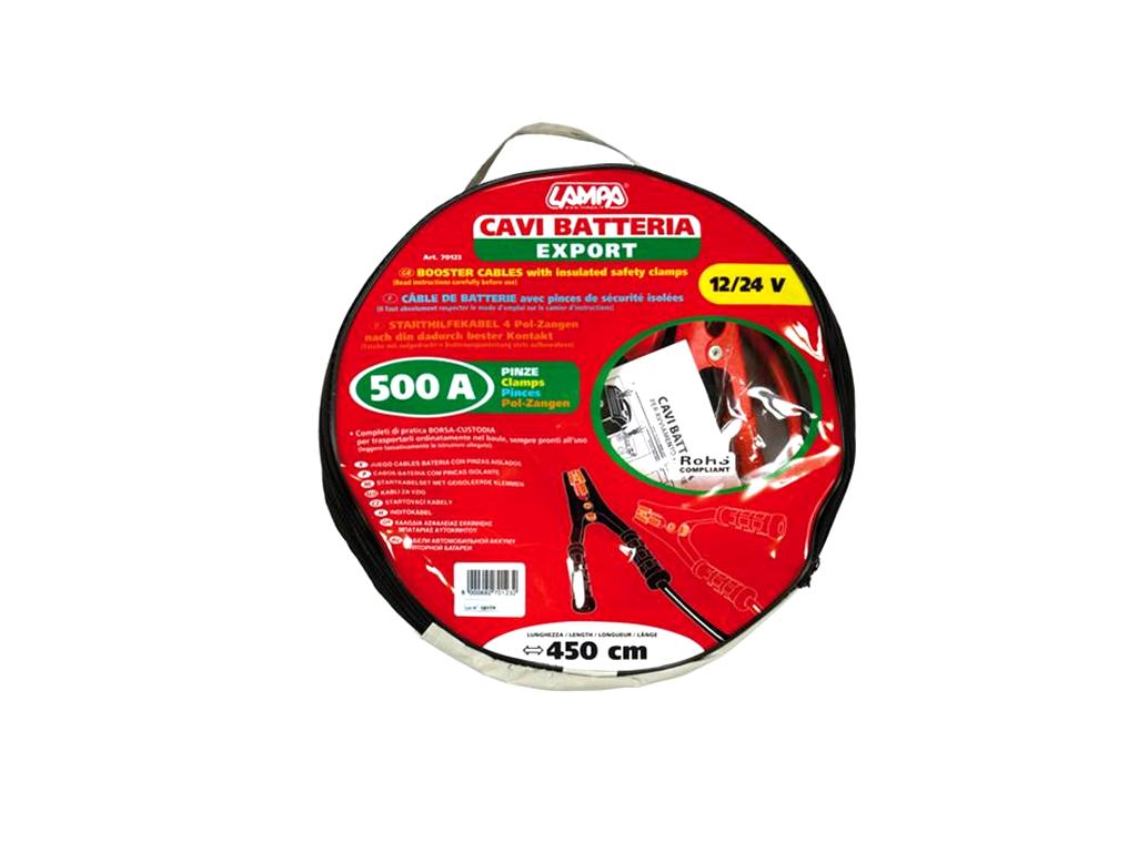 CAVI BATTERIA D.25X4,5mt 500A 70123