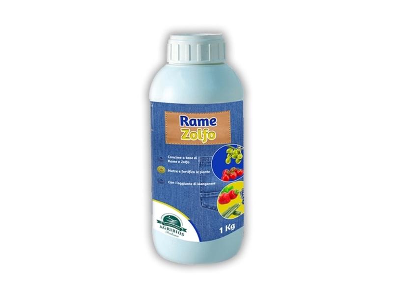 CONCIME LIQUIDO RAME E ZOLFO LT.1 (12
