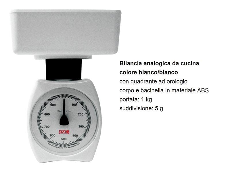 BILANCIA MECCANICA 5g-1KG P.ABS 33011