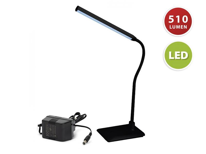 LAMPADA SCRIVANIA LED 6W SLIM NERA