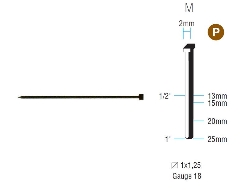 CHIODI PUNTATRICE M15 BL. 1130803 (15