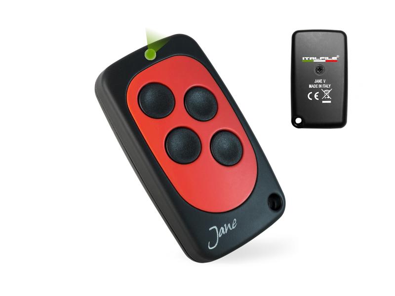 TELECOMANDO JANE V Rosso MHz 240-868